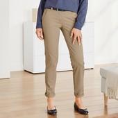 ❀Женские брюки Чино, комфортный хлопок, от тсм Tchibo (чибо), Германия, евро 40 (наш 46)