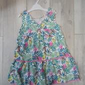 красивое легкое платье TU