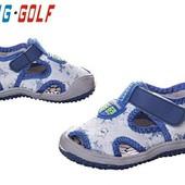 Очень удобные текстильные босоножки Jong Golf 26-31