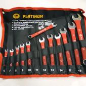 Набор ключей рожково-накидных 12 штук Platinum