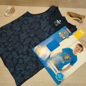 Германия!!! Симпатичный лот для мальчика! Коттоновая футболка и майка! 122/128!