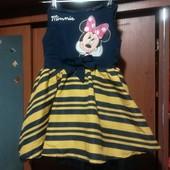 Просто бомбическое платье Disney на 1-2 года