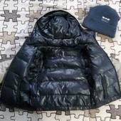 ❤️❤️❤️Пуховая курточка на мальчика 3-1 двухсторонняя+шапочка + жилетка очень теплая и красивая❤️❤️❤️