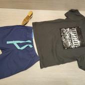 Германия!!! Суперовый лот для мальчика! Коттоновая футболка 98/104 и Бермуды 104!