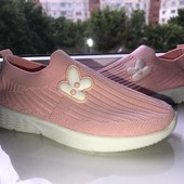 Классные мягкие кроссовки, стелька 19 см