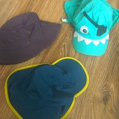 Две кепки и панама на 1-3 года