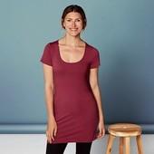 Удлиненная футболка туника Esmara размер хл(48-50) в лоте цвет фото 2