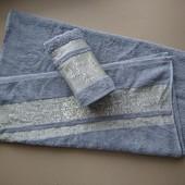 Zeron Турция настоящие махровые полотенца 2 штуки, 50х90 и 70х140