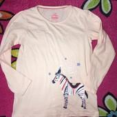 Лонгслив пижамный на девочку размер 110/116 от Lupilu.