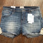 ☘ Шикарные джинсовые шорты от Blue Motion(Германия), евр.42