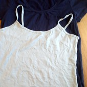 Одним лотом футболка и майка Esmara размер L (44-46)