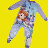 Флисовый слип с Софией,рост 110 см,Disney