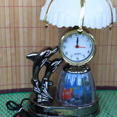 4 в 1: часы, будильтник, светильник, ночник.