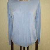 Нежно голубой свитерок размер М/Л замера на фото
