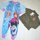 2 речі в лоті. Куртка без підкладки Pocopiano 86\92+кігурумі Disney 86\92
