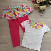 Костюм для девочки, лосины и футболка 2-3года. Бома. Хорошее состояние.