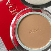 Шикарная матирующая пудра для лица Рupa silk touch compact powder. Оттенок: 04