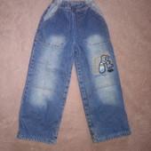 Стильные, теплые джинсы на флисе