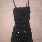 Маленькое, нарядное чёрное платье