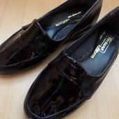Широкая ножка !!!Балетки Fortuna (натуральная кожа Италия) размер 39-длина стельки-25 см