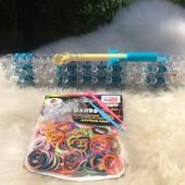 Набор для плетения из резинок с крючком Rainbow Loom!!!