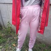 Штаны подростковые с манжетами и карманами.100% хлопок.В лоте на 10 лет.