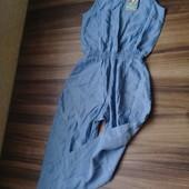 Комбинезон ромпер имитация ткани под лен Lupilu р.110 (100% котон)