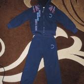 Спортивный костюм теплый 104 см