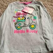 моднячий реглан для вашої модняшки Hello kitty  розмір 128