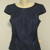 обалденная блуза с баской Esprit р 48/50 отличного сост.