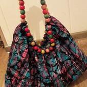 Красивая,модная, яркая летняя сумка