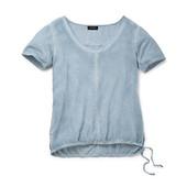☘ Футболка рубашка в винтажном стиле от Tchibo евр.36/38 S