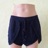 Шикарные летние шорты с кружевной окантовкой
