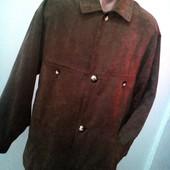 В идеальном состоянии и отменном качестве √√ стильная под замш курточка.