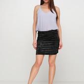Классная бархатная юбка Esmara Германия размер евро 36