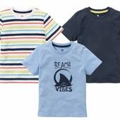 Комплект 3 шт футболочки на мальчика Lupilu Германия размер 86/92
