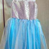 Нарядное платье, обруч в подарок!