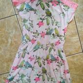 Платье Mads &Mette 5-6лет,95%вискоза