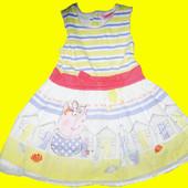 Нарядное платье с Пеппой,рост 98 см,Peppa Pig