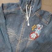 Джинсовая курточка! Состояние бомба!
