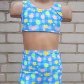 Детский купальник на 6,7 лет.