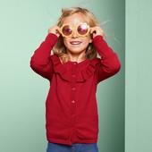 ☘ Мягкий и красивый кардиган для девочки от Tchibo (Германия), размер: 110/116