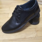 повністю шкіряне взуття прошите 42 р 27,5 см/інші моделі в моїх лотах!