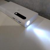 Зарядка power bank 60000 mah на 2 usb. с фонариком
