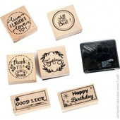 Набор деревянных штампов Crelando