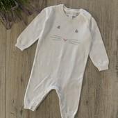 Ромпер, человечек на мальчика или девочку 0-3 месяца. В отличном состоянии.