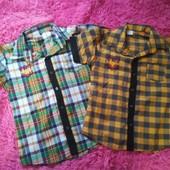 Красивые рубашки на 10 и 9 лет.