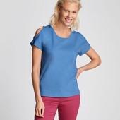 Яркая стильная женская футболка Esmara. Размер L, евро 44-46