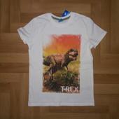 ❤️ Абалденная новая футболка. Размер на рост 128 см!! Читаем!