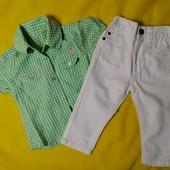 ЛоВиЛоТы! Джинсы и рубашечка на 1-1.5 года